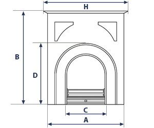 Mantel Dimensions