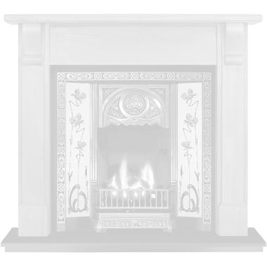 Wooden Tiled Fireplace Designer