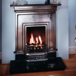 Barcelona Polished Cast Iron Fireplace