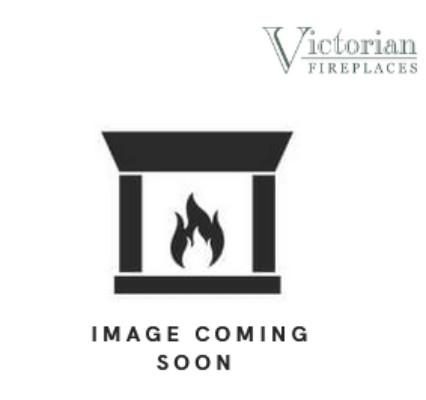 Barcelona Polished Cast Iron Fireplace