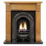Bedford Regal Wooden Fireplace