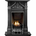 Daisy Cast Iron Fireplace