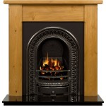 Durham Regal Wooden Fireplace