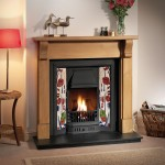 Bedford Prince Wooden Fireplace