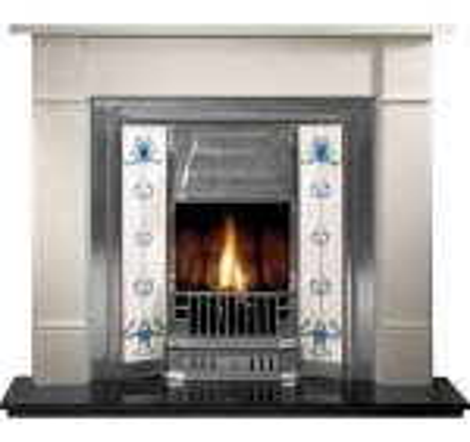 Thornton Prince Limestone Fireplace