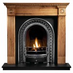 Regal Wooden Fireplace