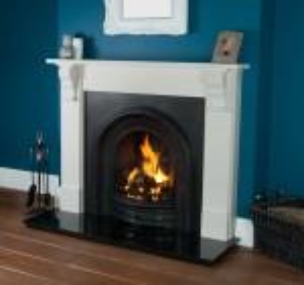 Abingdon Lytton Limestone Fireplace
