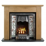Lincoln Balmoral Wooden Fireplace