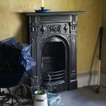 Victorian Small Cast Iron Fireplace