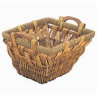 Shepton Wicker Log Basket