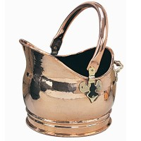 Salisbury Helmet Copper Coal Bucket
