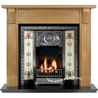 Bedford Tulip Wooden Fireplace