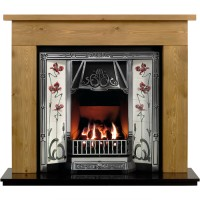 Borrington Toulouse Wooden Fireplace