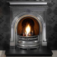 Celtic Cast Iron Fireplace