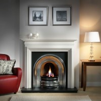 Crown Asquith Limestone Fireplace