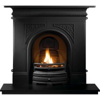 Pembroke Black Cast Iron Fireplace