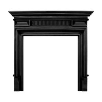 Belgrave Black Cast Iron Surround