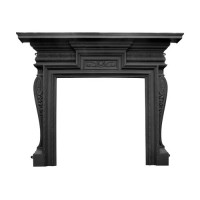 Knightsbridge Black Cast Iron Surround