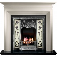 Toulouse Asquith Limestone Fireplace