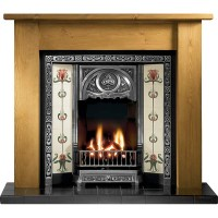 Tulip Lincoln Wooden Fireplace