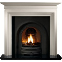 Lytton Asquith Limestone Fireplace