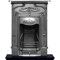 Jasmine Cast Iron Fireplace