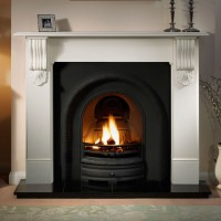 Lytton Kingston Limestone Fireplace
