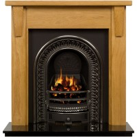 Templeton Regal Wooden Fireplace