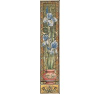 Blue Iris Tiles