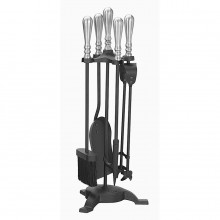 Elegance Companion Set Black & Pewter