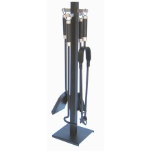 Column Companion Set Black & Pewter