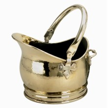Salisbury Helmet Brass Coal Bucket