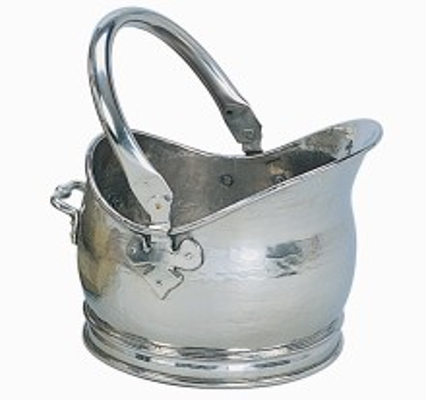 Salisbury Helmet Pewter Coal Bucket