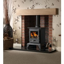 Classic 5 Clean Burn Multifuel Stove Package