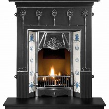 Amsterdam Cast Iron Fireplace