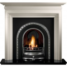 Henley Asquith Limestone Fireplace