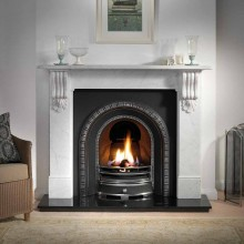 Henley Kingston Marble Fireplace