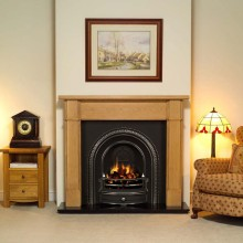 Radley Darwin Wooden Fireplace
