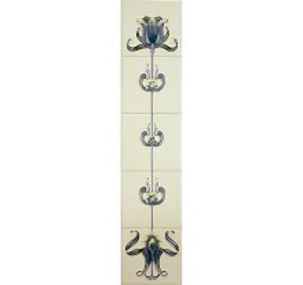 Tulip Blue & Ivory Tiles