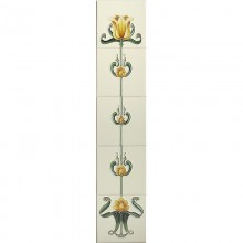 Tulip Yellow & Ivory Tiles
