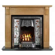 Bedford Balmoral Wooden Fireplace