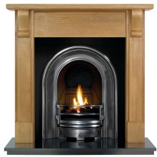 Bedford Coronet Wooden Fireplace Package