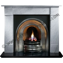 Brompton Crown Marble Fireplace