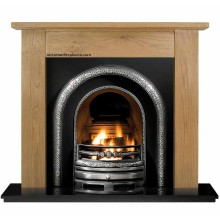 Lytton Lincoln Fireplace Package