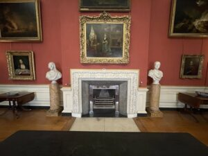 FIREPLACE DECORATION AT PETWORTH HOUSE