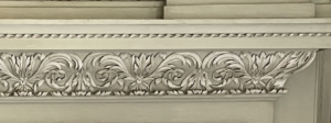 VICTORIAN FIREPLACE SURROUND PIECE AT PETWORTH HOUSE