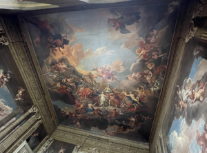 cieling paintings at the petworth house