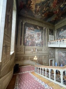 staircase of petworth house